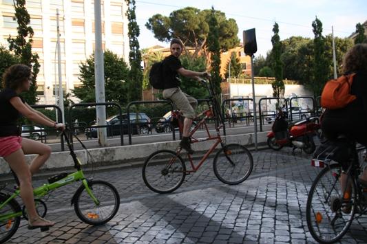 bici a due piani