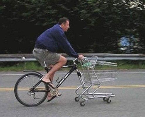 Bici carrello