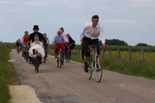 Corteo in bici