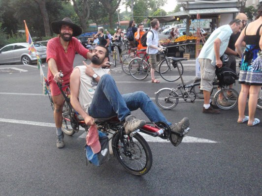 Tandem in critical mass