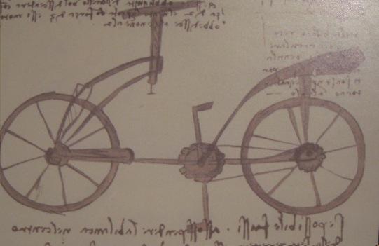 La Bicicletta Di Leonardo Da Vinci