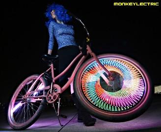 led-bici