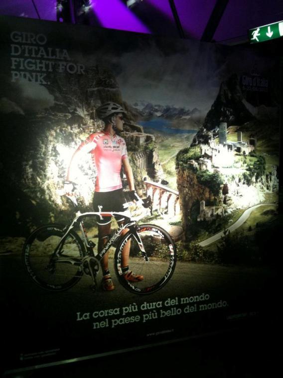 Locandina Ufficiale Giro d'Italia 2012
