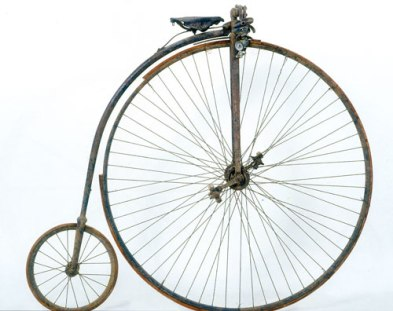 Storia della bici: il velocipede