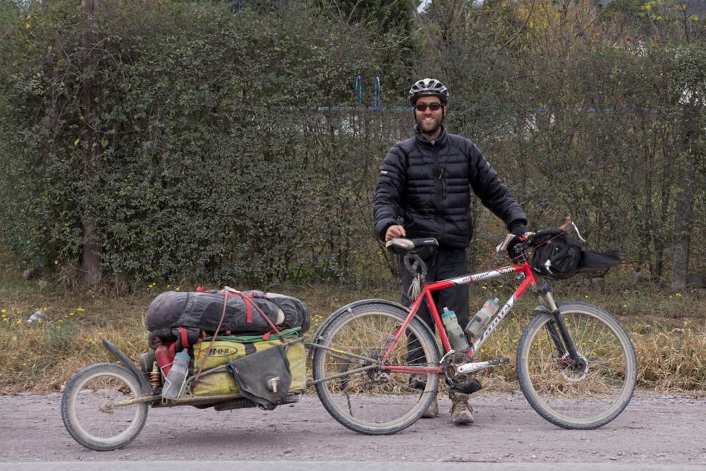 Recensione carrello per viaggio in bici