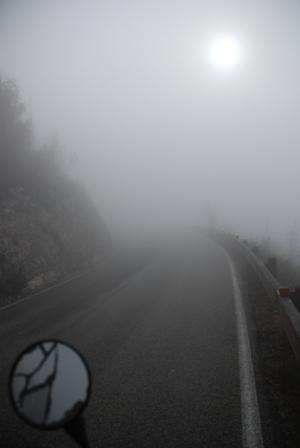 bici-nebbia