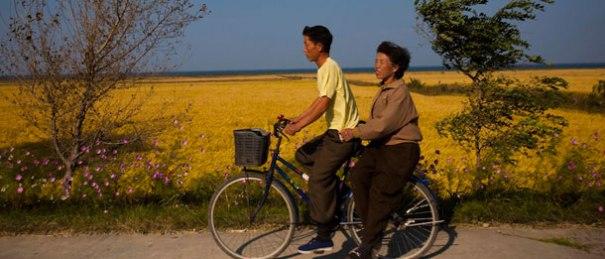 corea-del-nord-bici