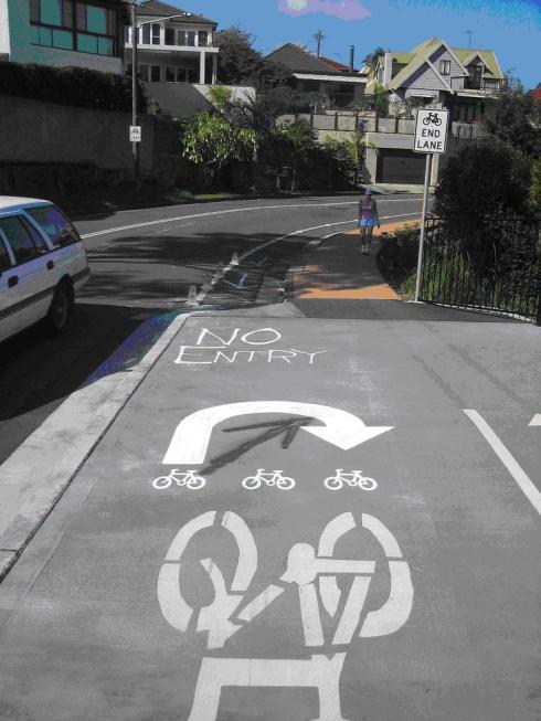 "Foto 11. Sidney, ciclopista ""Boomerang"""