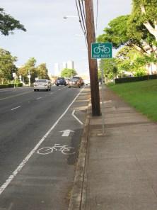 """Foto 10. Honolulu, ciclopista """"Aloha"""""""