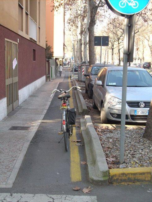 8. Modena. Ciclopista Sogliola