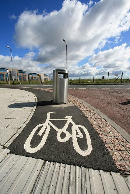 Foto 18. Gateshead, riciclopista riciclabile