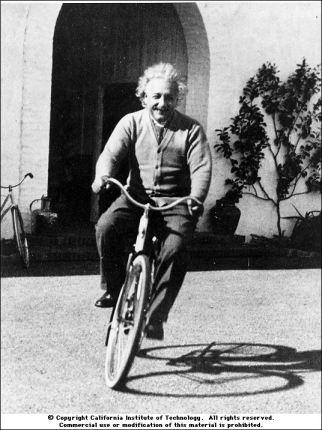 einstein-bici