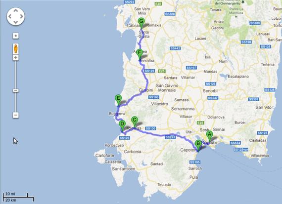 Sardegna Ovest Cartina.Vendita Allasta Atleta Turbolenza Cartina Sud Ovest Sardegna Amazon Settimanaciclisticalombarda It