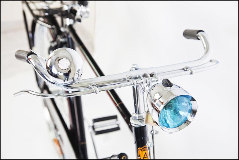 04 Bicicletta Retro Vintage freni a bacchetta Fanalino fronte