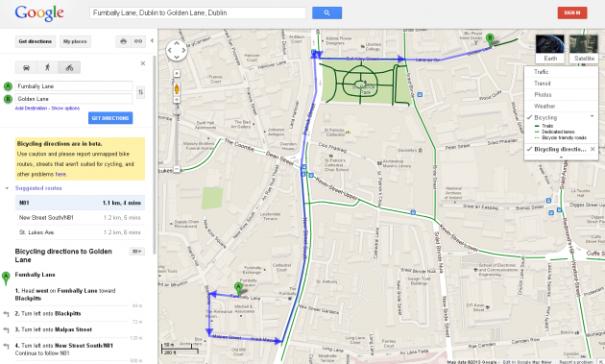 google-bici-irlanda