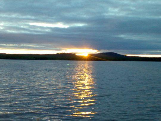 Lago Kemijärvi Finlandia