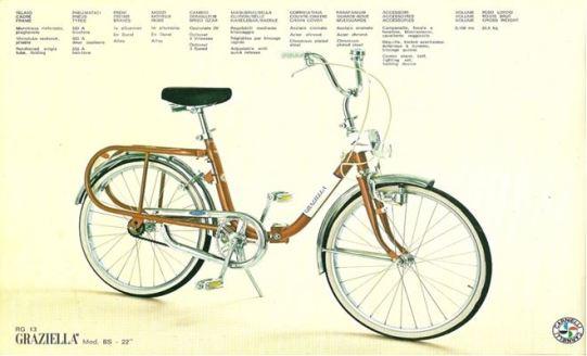 Bicicletta Graziella Anni 70