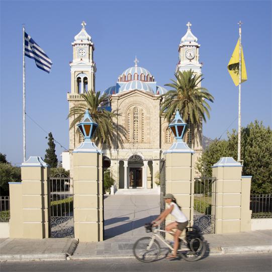 Karlovasi chiesa Pinar
