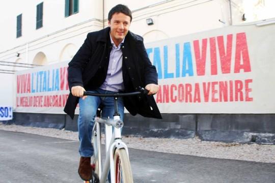 Renzi, comunicare la bici a Firenze
