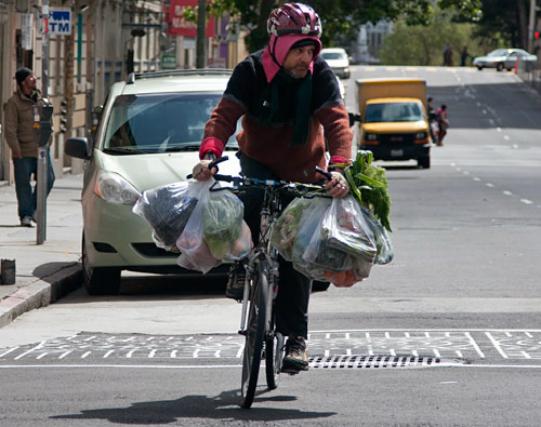 Come fare la spesa in bici for Bici supermarket