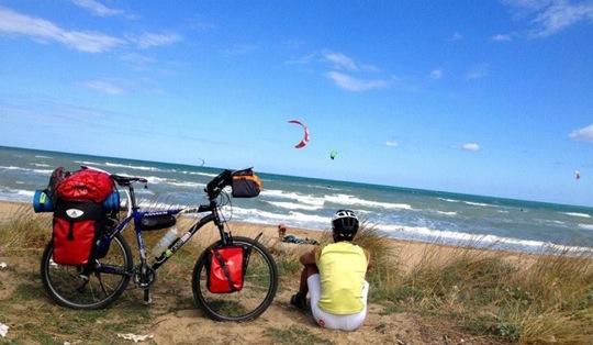 Viaggio in bici in Italia