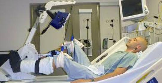 Paziente terapia intensiva bici
