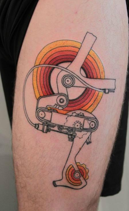 Tatuaggi E Biciclette Quando La Passione Sfiora Lossessione