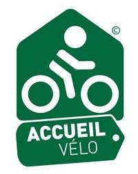 Il logo Accueil Vélo