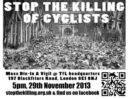 Londra die-in TFL