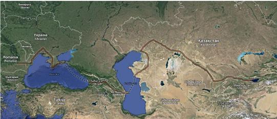 Cycloscope, viaggio in bici in Asia centrale