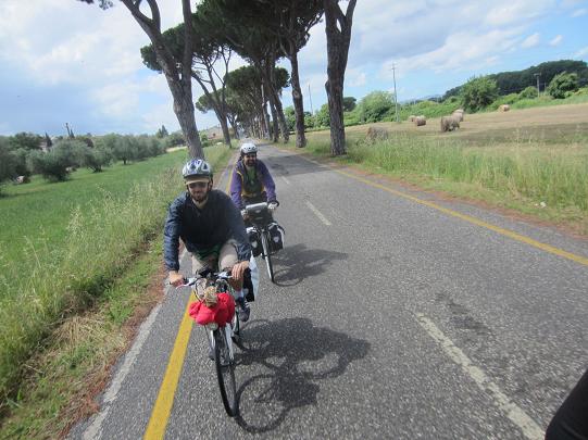 In bici da Grosseto alla Garfagnana - parte 2