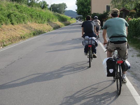 In bici da Grosseto alla Garfagnana - parte 5
