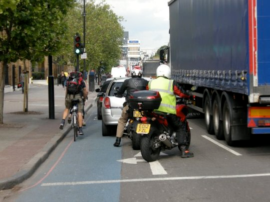 Londra tfl bici