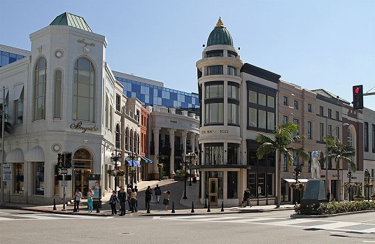 Beverly Hills, angolo con Rodeo Drive