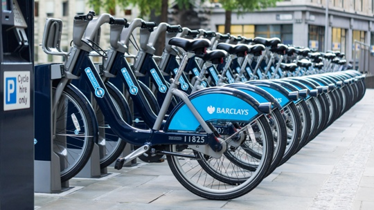 Bike sharing Londra
