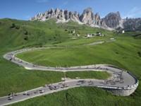 Italy scenic roads