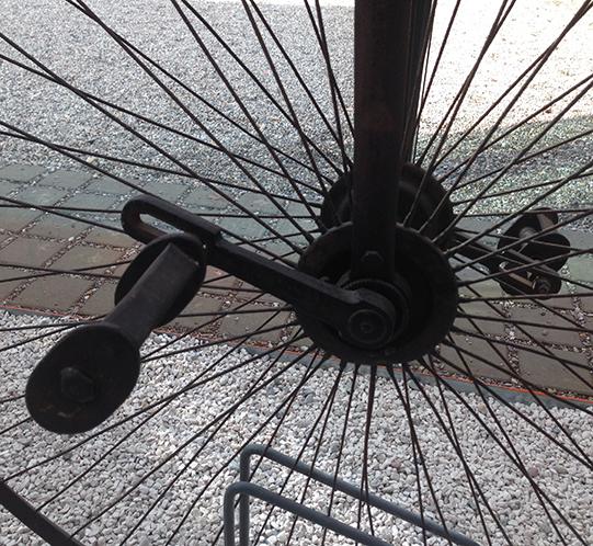 Dettaglio monociclo