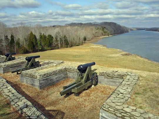Fort Donelson river battery