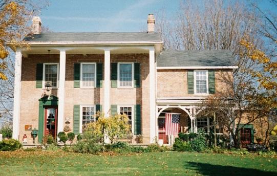 La casa di Jonathan Wright a Springboro, in Ohio