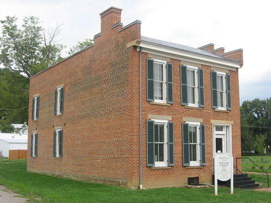 La casa di John P. Parker a Ripley, in Ohio