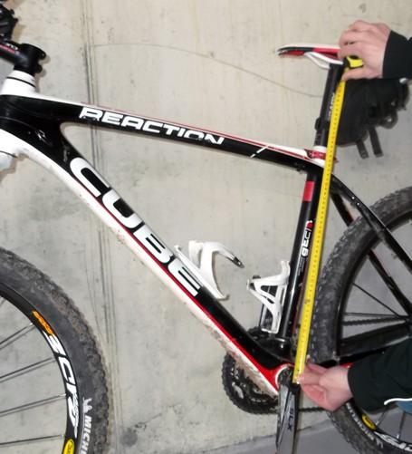 Calcolare taglie e misure del telaio della bici for Una planimetria della cabina del telaio