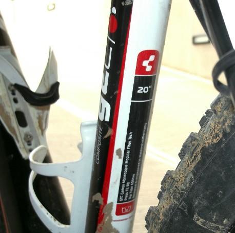 misure taglie bici