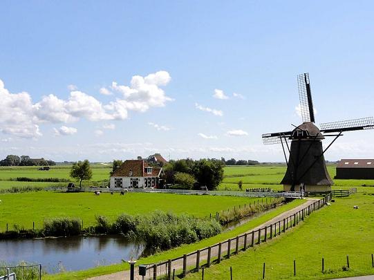 Cicloturismo in Olanda, Mulini