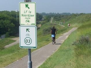 Cicloturismo in Olanda, segnali indicatori