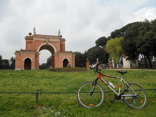 Roma in Bici, Giro delle Ville