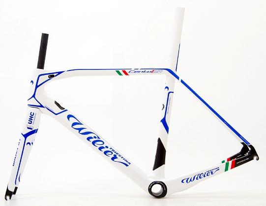 materiali della bici
