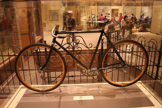 Una bici dei fratelli Wright conservata al National Air and Space Museum