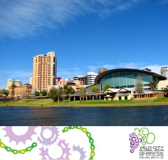 L'Adelaide Convention Centre, che ospiterà Velo-City 2014