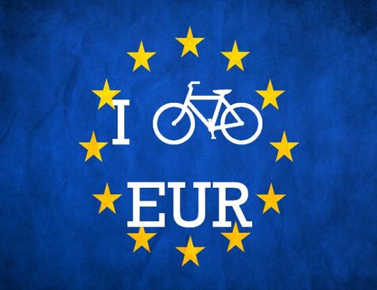Parlamento europeo e bici