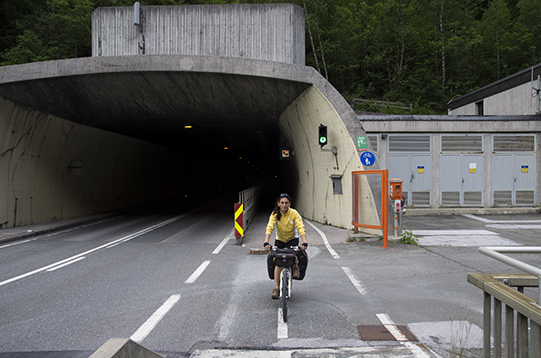 tunnel ciclabile